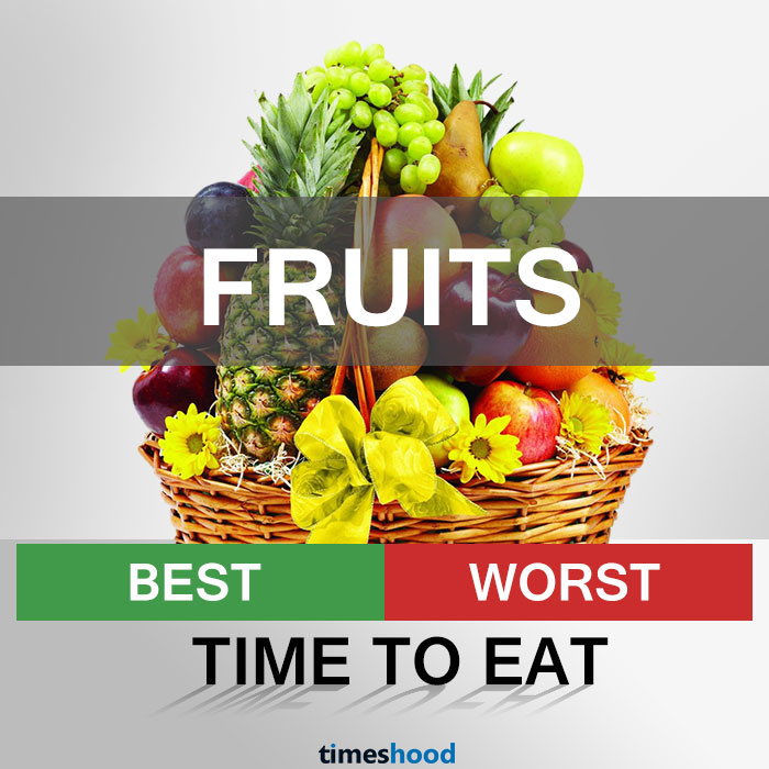 Times To Eat Certain Foods