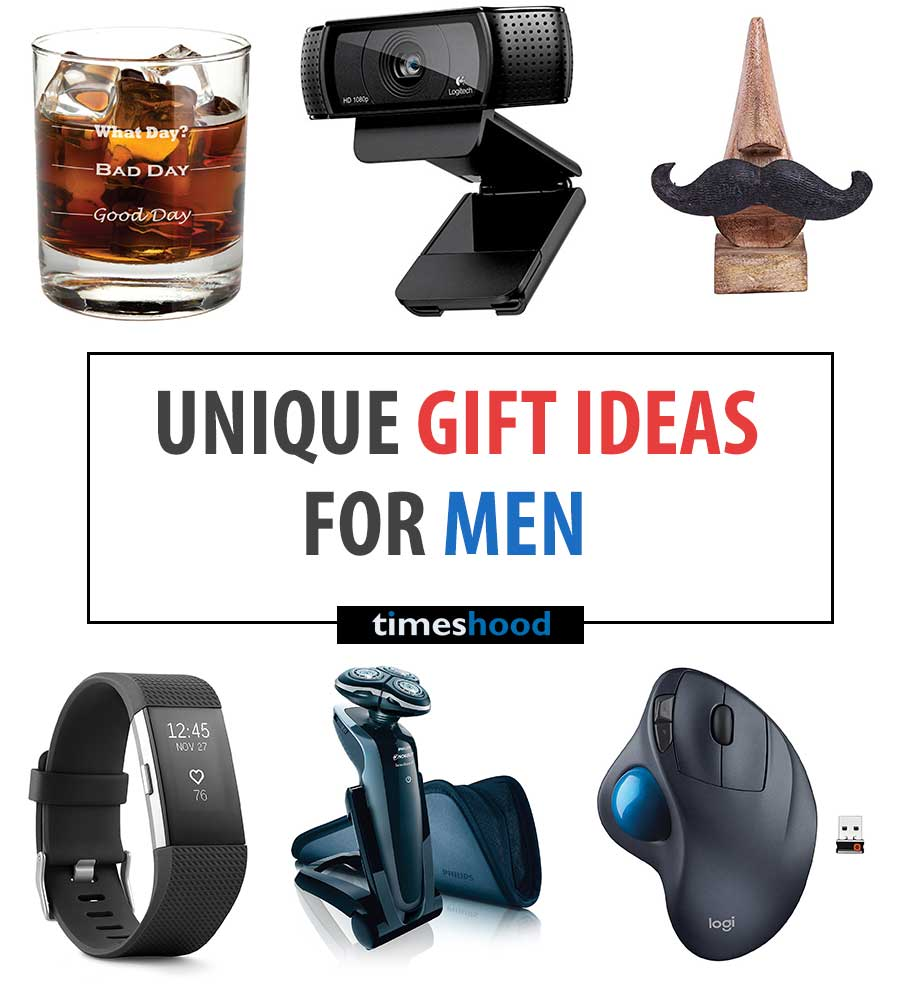 Present Ideas For Men: 30 Unique Gift Items A Man Actually Want But Never Tells